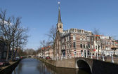 Canal in Delft — Stock Photo