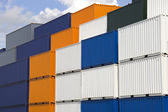 Colorful Containers — Stock Photo
