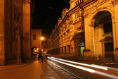 夜のプラハ — ストック写真