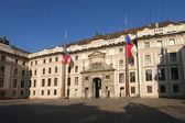 Prague Palace Entrance Gate — Stock Photo