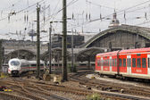 Cologne Railway Station — Stock Photo