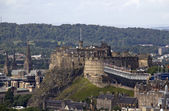 Edinburgh Castle and Tattoo — Stock Photo