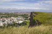 View over Edinburgh — Stock Photo