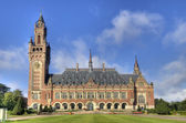Peace Palace in Holland — Stock Photo