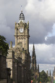 Clocktower in Edinburgh — Stockfoto