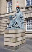 Статуя Давида Хьюм — Стоковое фото