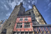 Aachen Rathaus, Germany — Foto Stock