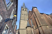 St Lambertus Church Dusseldorf — Stock Photo