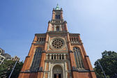 Johannes Church in Dusseldorf — Stock Photo