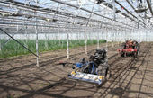 Machines in the Greenhouse — Stock Photo