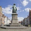 Statue of Jan van Eyck — Stock Photo #48228853