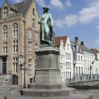 Statue of Jan van Eyck — Stock Photo #48228917