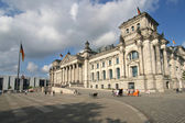 Berlin Reichstag building — Stock Photo