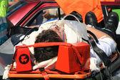 Car Crash Victim — Stock Photo