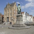 Statue of Jan van Eyck — Stock Photo #49728083