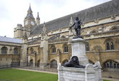 Statue of Oliver Cromwell — Stock Photo