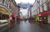 Gate to Chinatown in London — Stock Photo
