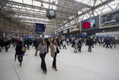 Waterloo station london — Stockfoto