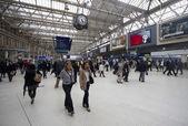 ウォータールー駅ロンドン — ストック写真