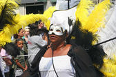 Masked Carnival Dancer — Stock Photo