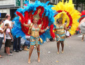 Carnival Dancers — Stock Photo