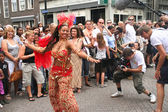 Filming Carnival — Stock Photo