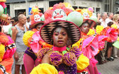 Young Carnival Dancer — Stock Photo