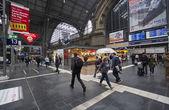 Frankfurt Railway Station, Germany — Stock Photo