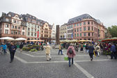 Mainz Market square — Stock Photo