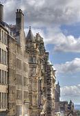 Edinburgh-häuser — Stockfoto
