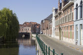 Canal in Ghent, Belgium — Stock Photo
