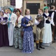 Victorians at Edinburgh Festival Fringe — Stock Photo #50915137