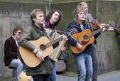 Rock Band — Стоковое фото