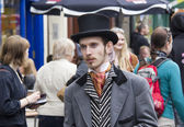 Performer at Edinburgh Festival Fringe — Photo