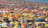 Crowded Beach — Stock Photo