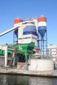 Cementfabriek — Stockfoto