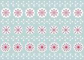 Modello fiocco di neve di natale — Vettoriale Stock