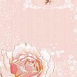 Royalty-Free Stock Vektorfiler: Pink rose
