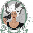 Royalty-Free Stock Imagen vectorial: Masquerade