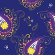 Paisley background - Stock Vector
