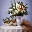 Christmas arrangement - Stock Photo