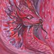 Red dragon — Stock Photo