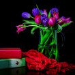 Colorful tulips — Stock Photo #40535643