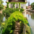 Постер, плакат: Canal in Petite France area Strasbourg France