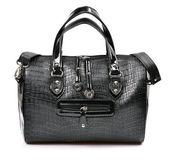 Svart kvinnlig väska — Stockfoto