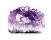 Amethyst druse — Stock Photo