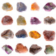 Mineral collection - Stock Photo