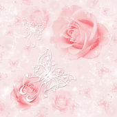 Abstract floral background — Stock fotografie