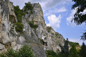 """The rock monastery """"St Dimitrii of Basarbovo"""" — Photo"""