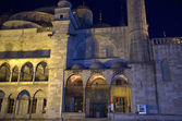Blue mosque in Istanbul. Night scene — Stock Photo